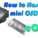 How to flash the Mini OSD/E-OSD with uOSD?
