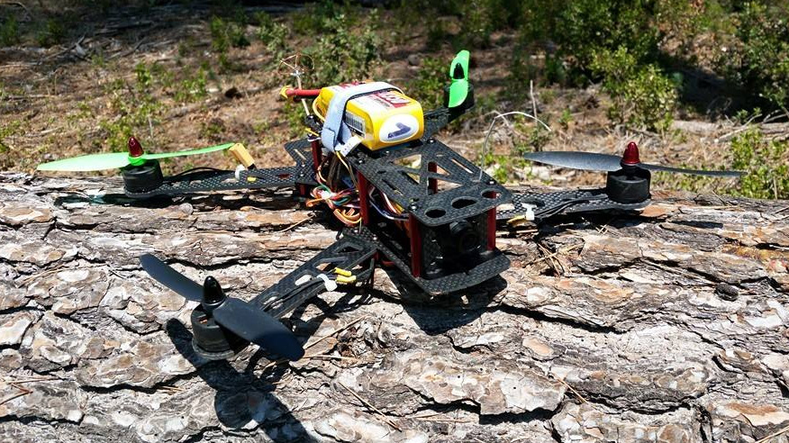 The ZMR280 with Emax PM1806 2300Kv